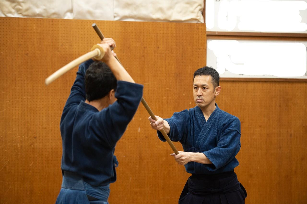 神道夢想流杖術表